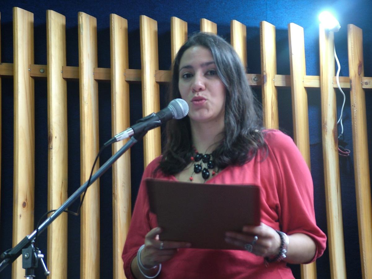 Jessica Pernia (Tamara Pearson- Venezuelanalysis.com)
