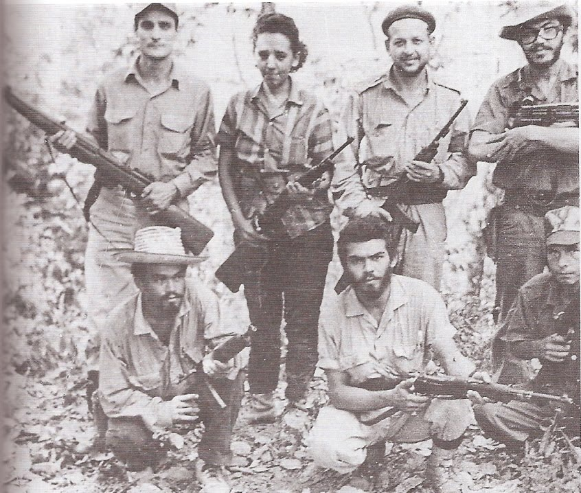 Venezuelan revolutionary, Fabricio Ojeda (top, second from right) (CirculoBolivarianoFabricioOjeda)