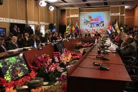 The ALBA's official summit was held this weekend in Caracas (CdO)