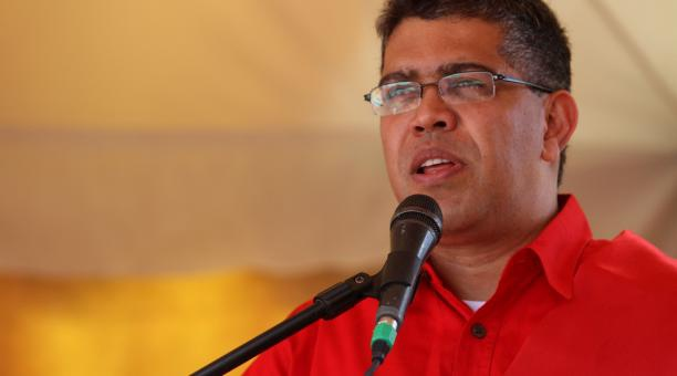 Venezuelan Vice-President Elias Jaua (AVN)
