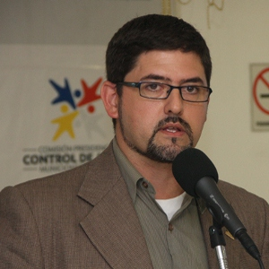 Pablo Fernandez, secretary of the Presidential Commission for Weapons Control and Disarmament (CdO).