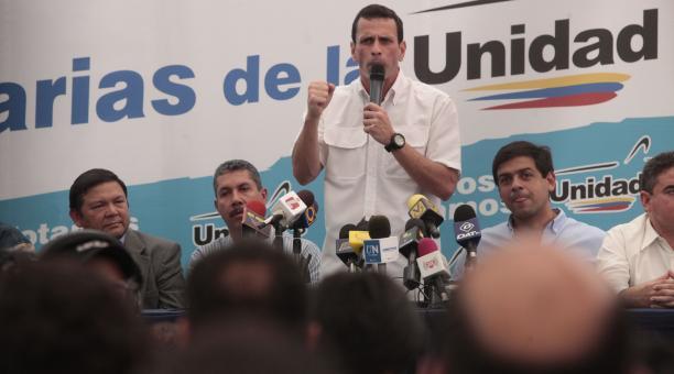 Venezuelan opposition presidential candidate Henrique Capriles Radonski (AVN)