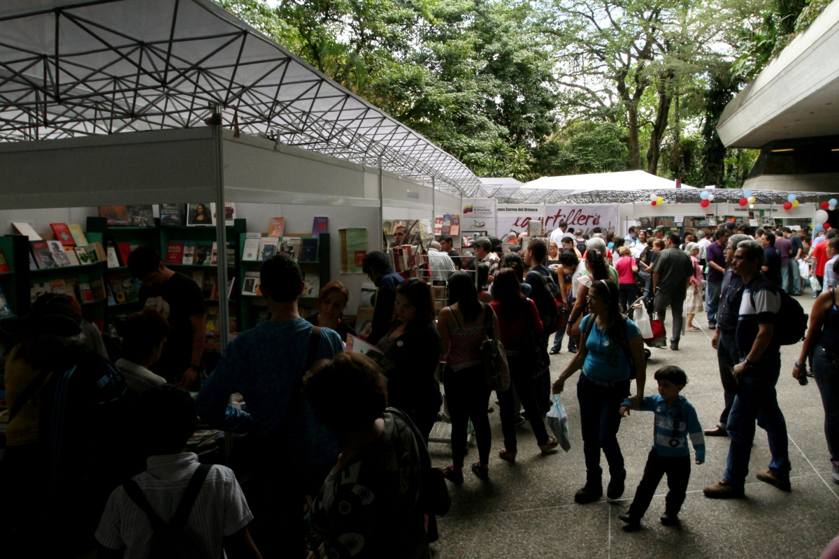 Some of the many publishers' stalls (AVN)