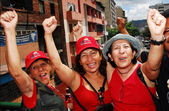 Venezuelan women are at the forefront of the Bolivarian revolution (archive)