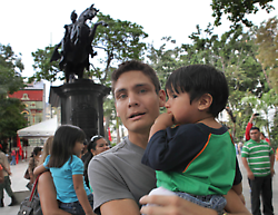 The rights of fathers were not well supported in the previous labour law (Jesus Castillo).