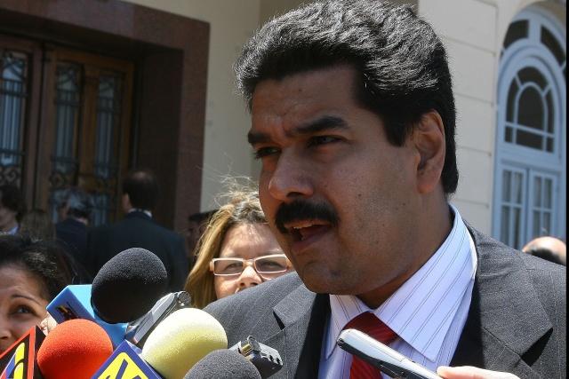 Foreign Minister Nicolas Maduro (agencies)