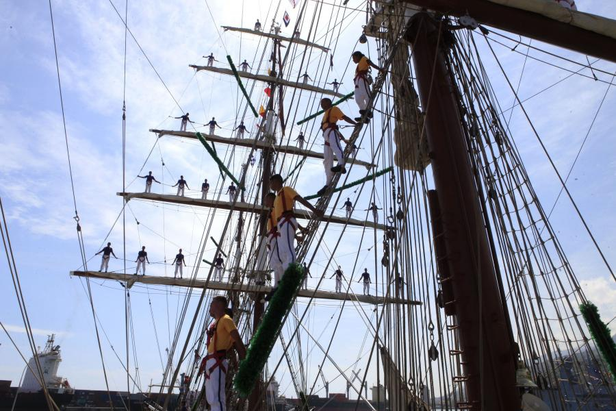 The ship arrived in Caracas earlier this month (AVN)