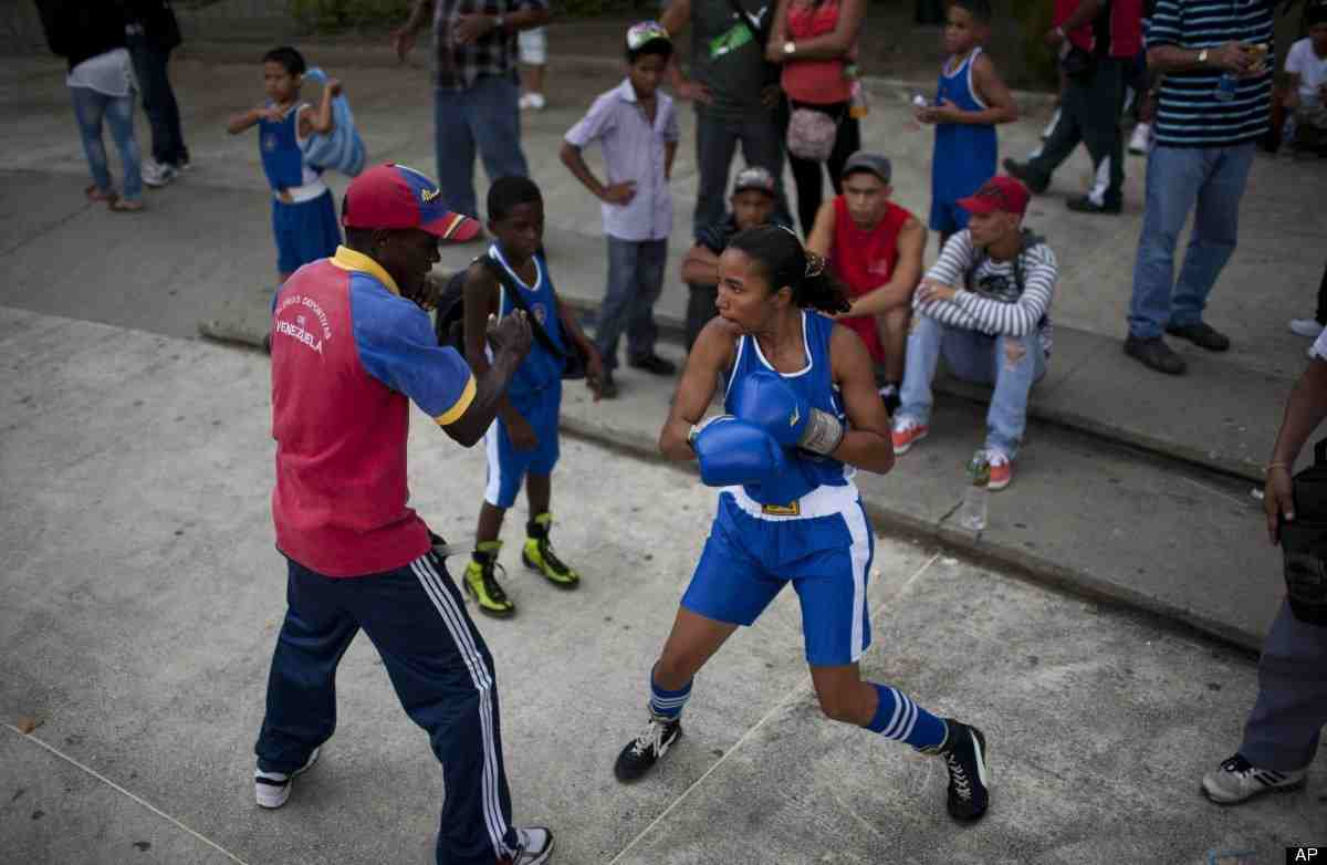 """Jesus """"Kiki"""" Rojas, a former flyweight and super flyweight World Boxing Association champion, says that the government sponsored program has managed to help youths with behavioral problems (HuffingtonPost)"""