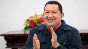 President Hugo Chavez looking well just a few days ago (nuevodiario)