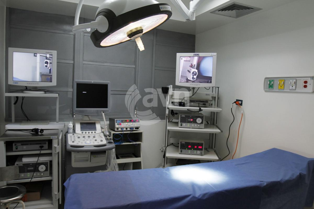 An intensive therapy room in the Miguel Perez Carreño Hospital in Caracas (AVN)