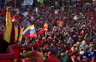 Venezuelan President Hugo Chavez is seeking re-election this year to continue deepening the country's Bolivarian Revolution. (archive)