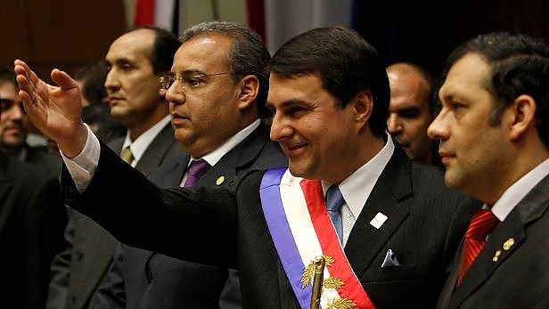 New Paraguayan President Federico Franco (Reuters).