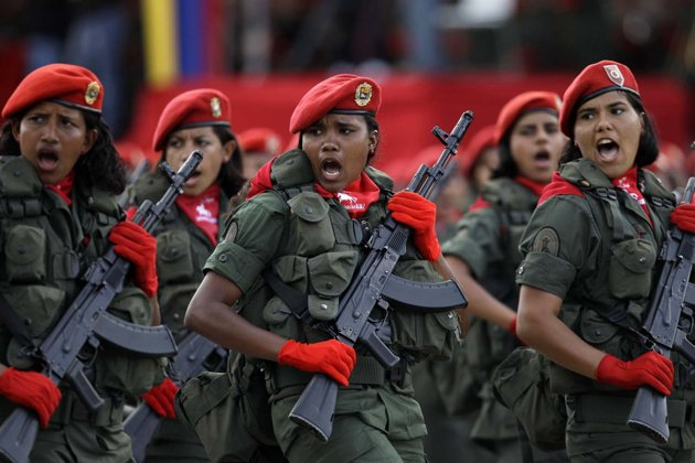 Women in the Bolivarian Armed Forces (Referencial)