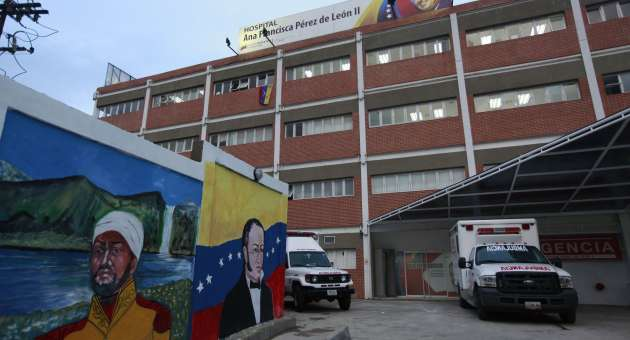 The new Hospital Ana Francisca Perez de Leon II in Petare, Miranda state (AVN)