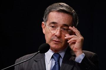 Ex Colombian president Alvaro Uribe (archive)