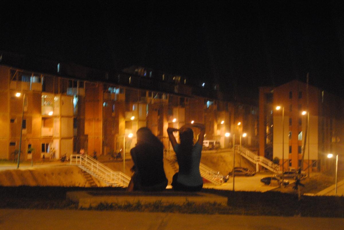 Venezuela's new socialist city Caribia in the evening time (Rachael Boothroyd)