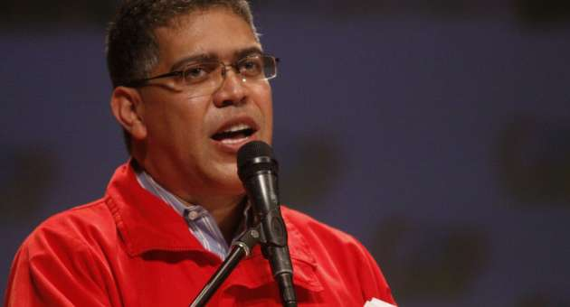 Vice-president Elias Jaua (archive)