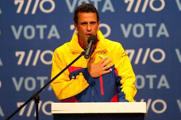 Opposition candidate Henrique Capriles Radonski recognised his election defeat (Miguel Gutiérrez / EFE)