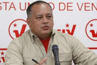 Diosdado Cabello announcing the PSUV's candidates for the regional elections (YVKE Mundial).