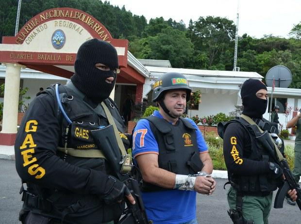 "Daniel ""El Loco"" Barrera was captured in September with cooperation between Colombian and Venezuelan authorities (VTV / archives)"