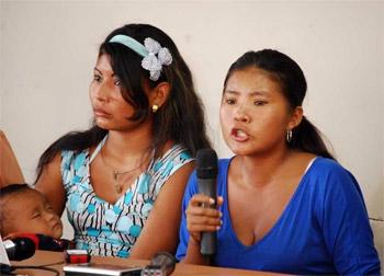 Yukpa spokesperson Zenaida Romero (Havanatimes.org)