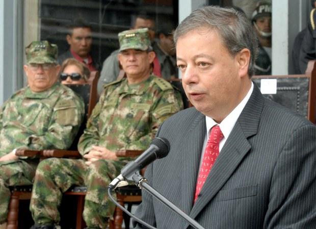 Ex Colombian Defence Minister Gabriel Silva (VTV)