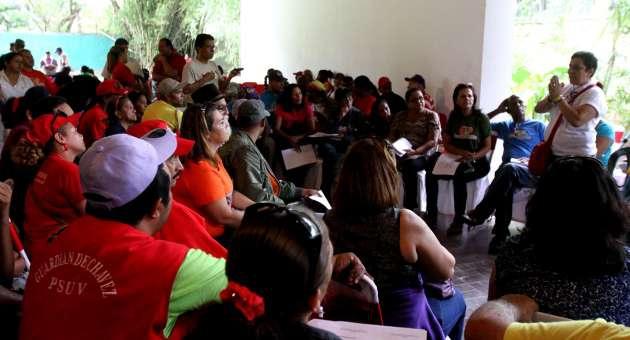 A citizen assembly in Lara state (AVN)