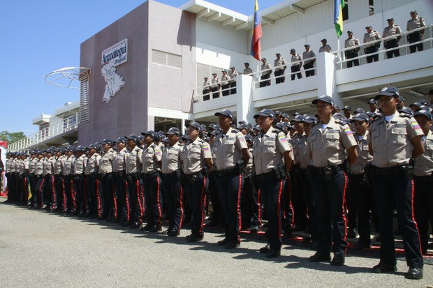 924 officers from Venezuela's National Bolivarian Police Force (PNB) were deployed in Anzoategui state on Sunday (MPPRIJ)