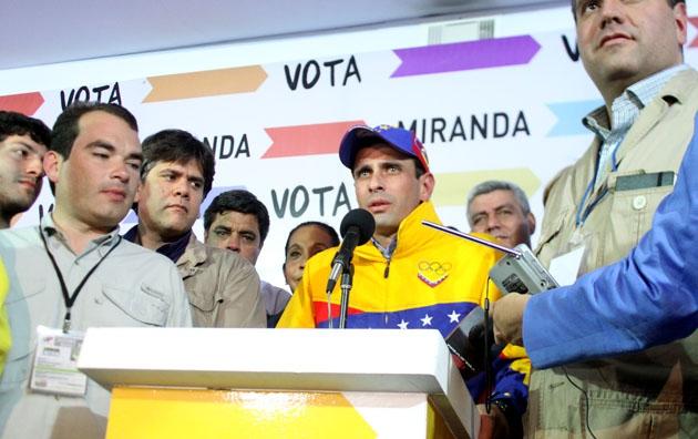 Henrique Capriles (Prensa HCR / Daniel Lara)