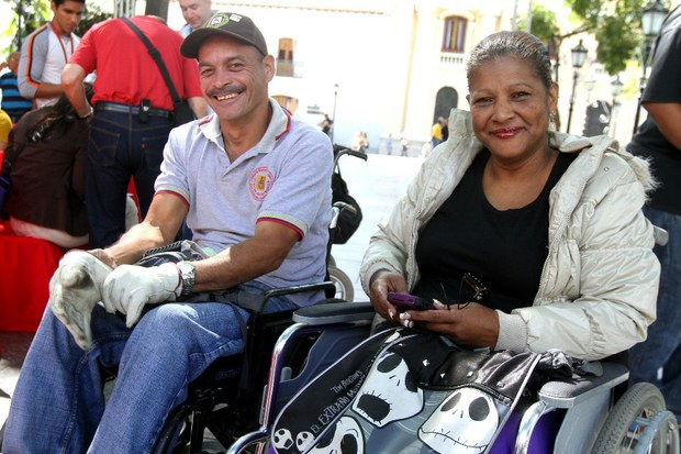 People with disabilities marked their day yesterday with ceremonies and activities across Venezuela (AVN)