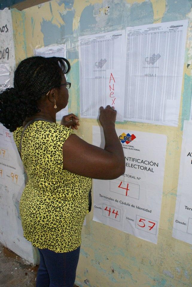 Voting in Zulia (AVN).