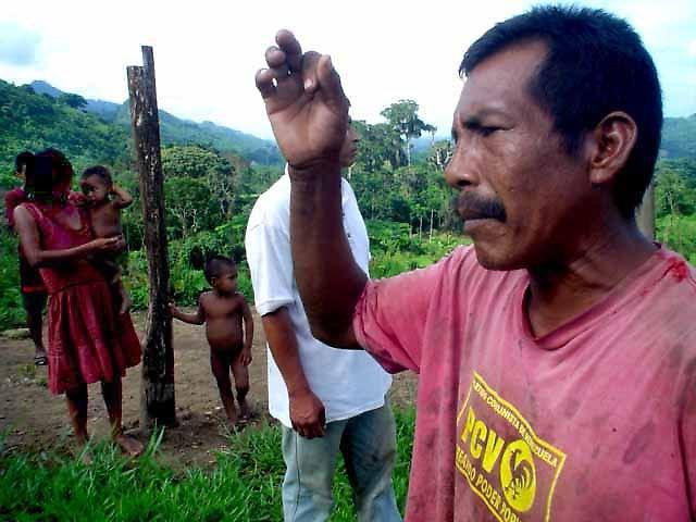 Yukpa indigenous people in the Sierra of Perijá