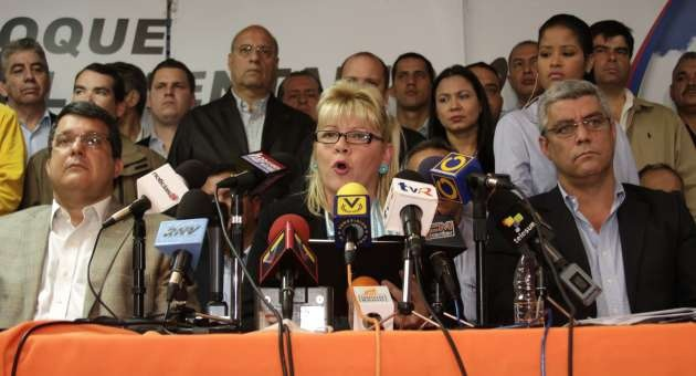 "The parliamentary bloc of the opposition MUD coalition called for a ""massive show of force"" on 23 January to protest against the legality of the delay in Chavez's swearing-in (AVN)"