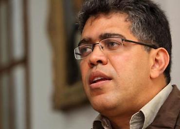 Elias Jaua, ex vice-president of Venezuela (archive)