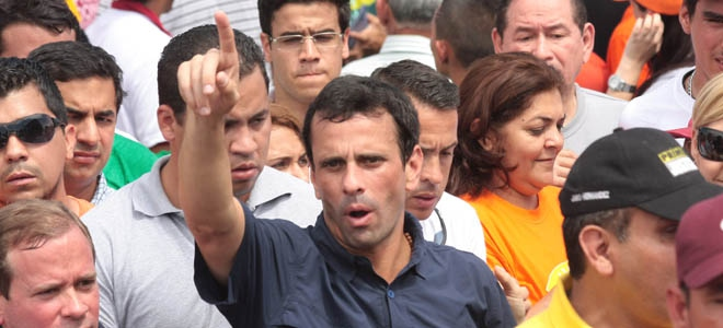 Governor of Miranda Henrique Capriles (La Verdad)