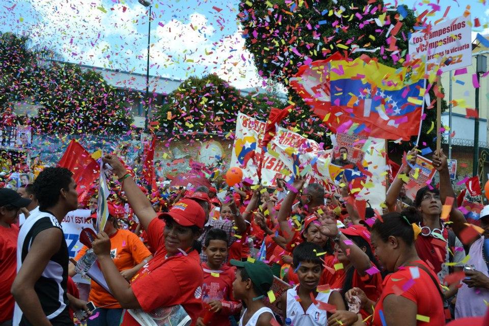 Venezuelans rally for Chavez