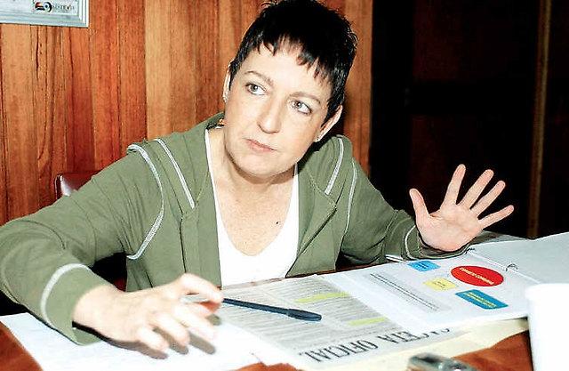 Labor Minister Maria Cristina Iglesias (Presidential Press)