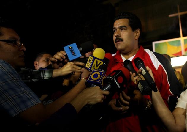 Venezuelan Vice President Nicolás Maduro (Prensa Miraflores)