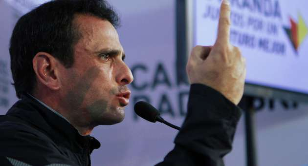 Henrique Capriles Radonski's failed bid for presidency last year damaged opposit