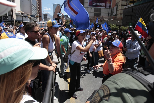 Another photo of the opposition protest (Jesus Contreras).