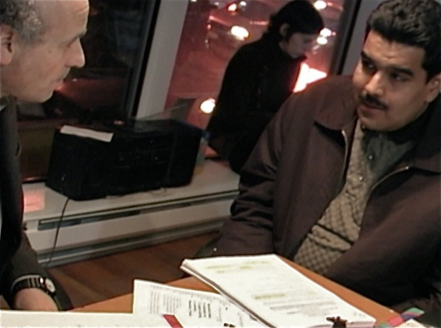 The author with Nicolas Maduro before he became the President of Venezuela.