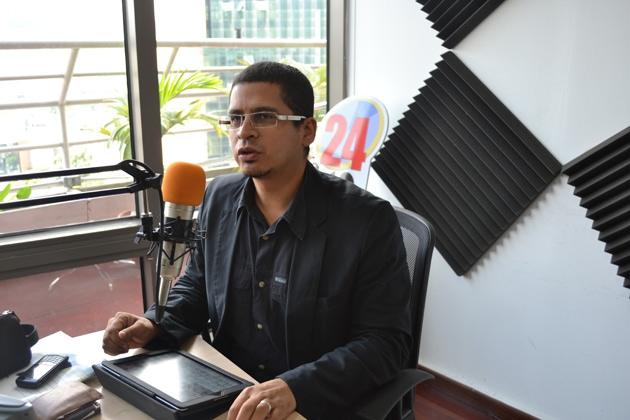 Venezuelan political analyst Nicmer Evans (Edwin Arias/ Noticias24)