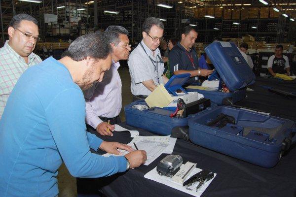 CNE technicians prepare for the auditing process (AVN)