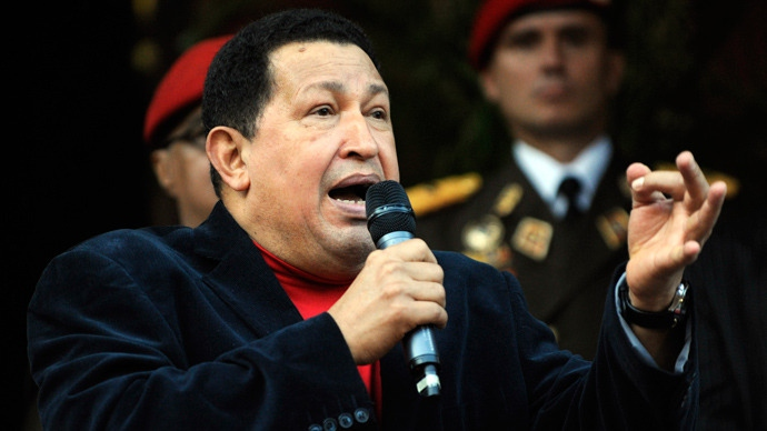 Hugo Chavez (AFP Photo / Leo Ramirez)