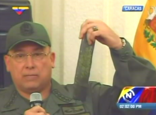 Military and government officials have stated that Colombian paramilitaries procured Venezuelan military uniforms, C4 explosives and 50 high capacity magazines for use in an attack on Venezuelan soil (YVKE).