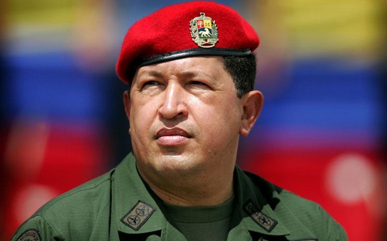 Venezuelan President Hugo Chávez in 2005 (CNS/Reuters/Jorge Silva)