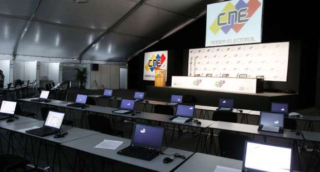 A CNE media centre available for national, international, and alternative media journalists (AVN)