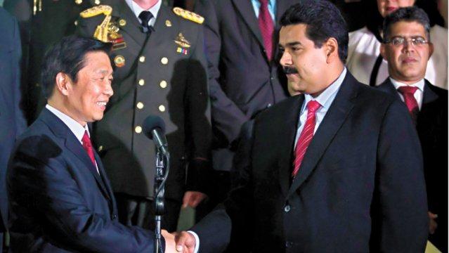 Vice President Li Yuancho visited Venezuela this week as part of his regional tour (Miguel Gutiérrez/END/EFE)
