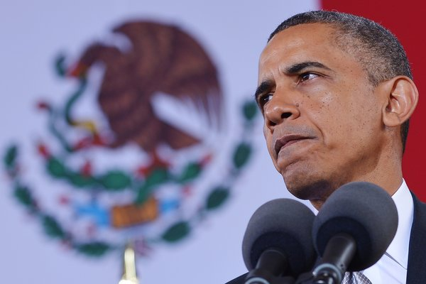 Comments made by Obama in Mexico on Friday have ignited criticism from Caracas (Mandel Ngan/AFP/Getty Images)