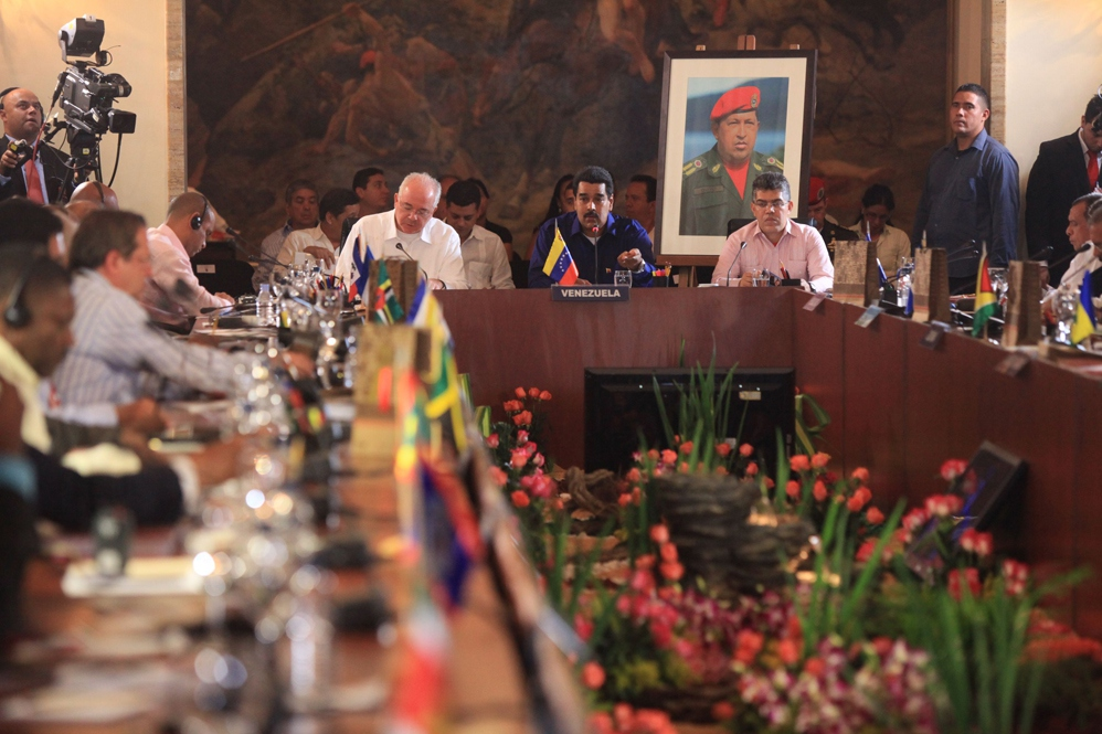 The Petrocaribe summit took place over the weekend in Caracas (Alexander Gómez/AVN)